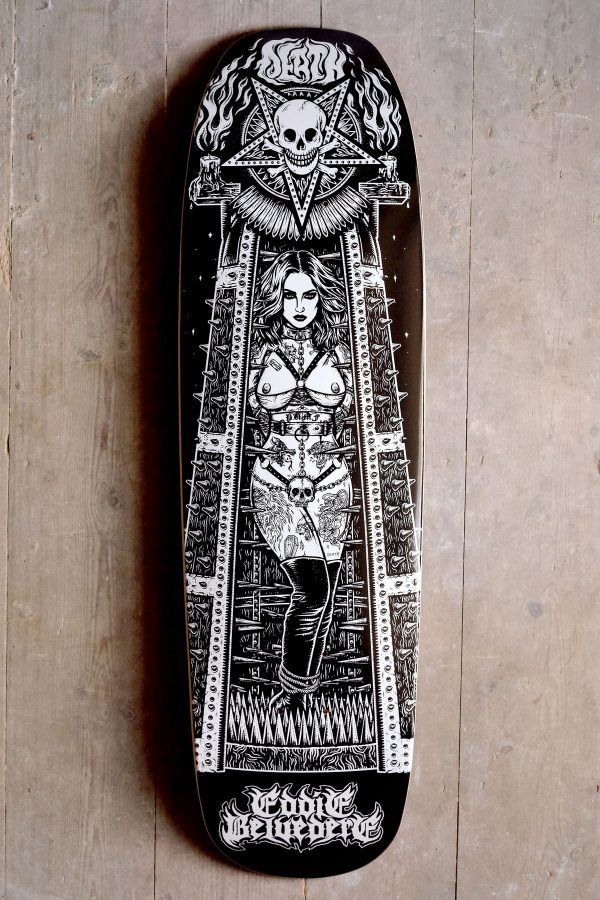 Death Eddie Belvedere Maiden Shaped Graphic