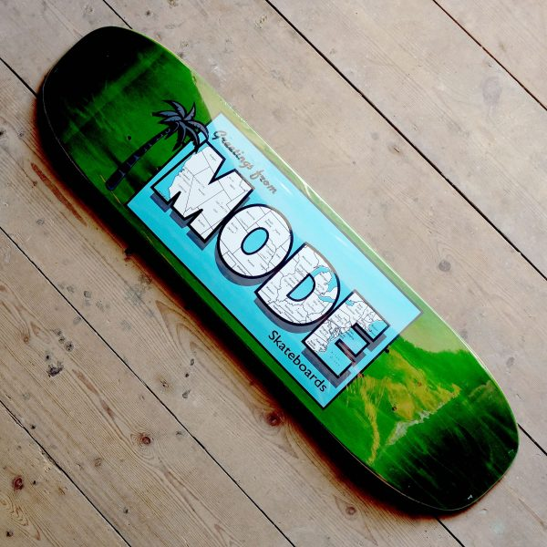 Mode Postcard Green