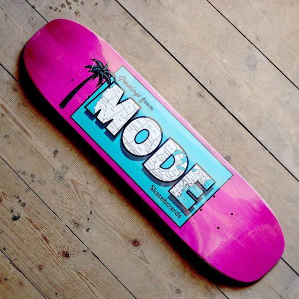 Mode Postcard Pink