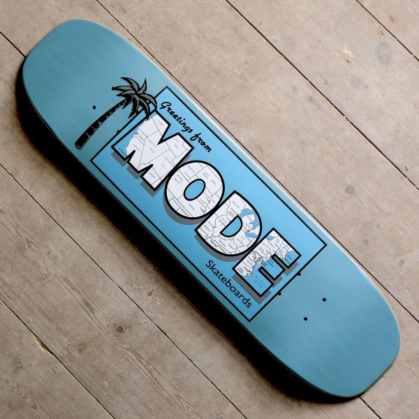 Mode Postcard Turquoise