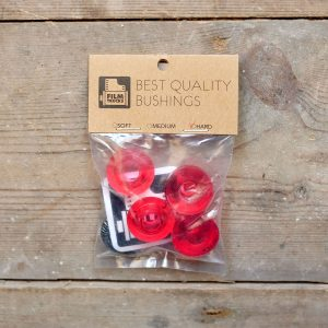 Film Bushings Hard Red Web