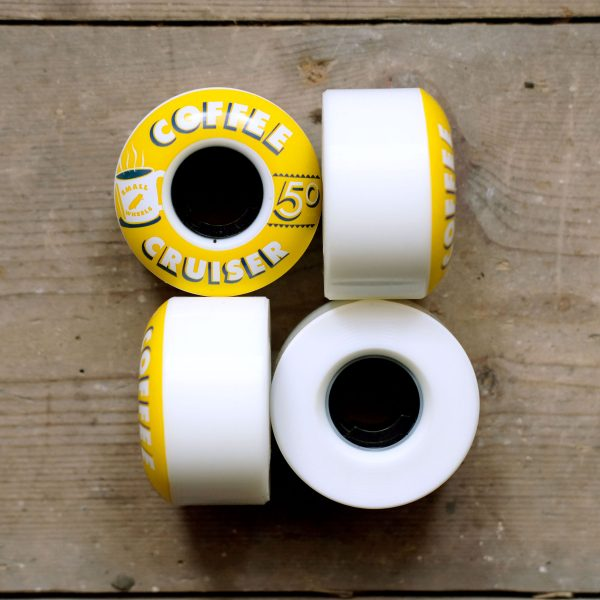 SML Coffee Cruisers Yellow 50mm All Sides