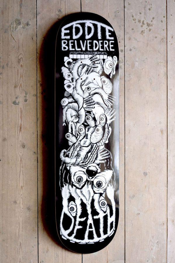 Death Eddie Belvedere Phantasmgasm Graphic