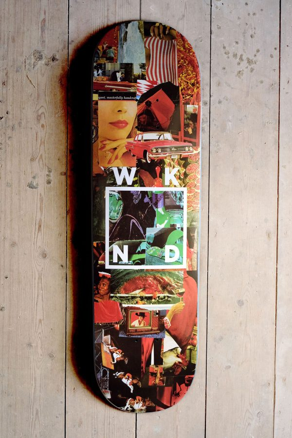 WKND Collage Logo Red Graphic