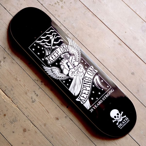 Death Skateboards 20 Years Deck Main