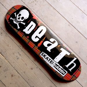 Death Skateboards Tartan Punk deck Main