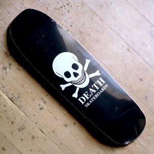 Death Black Skull 922 Shaped