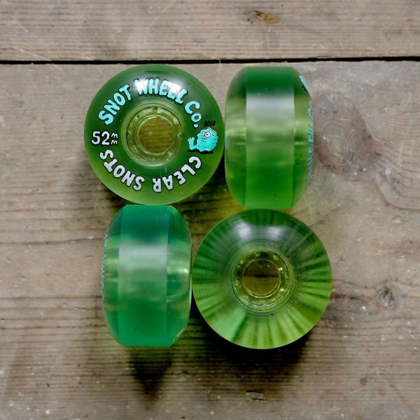 Snot Wheels 52mm Clear All Sides