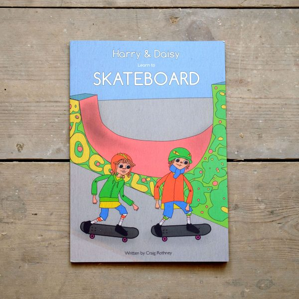 Harry and Daisy Learn to Skateboard Front Cover